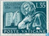 Postage Stamps - Vatican City - Augustine