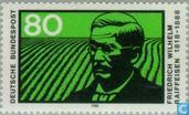 Briefmarken - Deutschland, Bundesrepublik [DEU] - Friedrich Wilhelm Raiffeisen