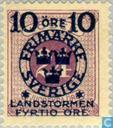 Postage Stamps - Sweden [SWE] - 10 + FYRTIO # 24 Violet