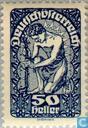 Briefmarken - Österreich [AUT] - Post Hörner und Staatswappen