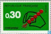Postage Stamps - France [FRA] - New postal code