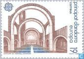 Postage Stamps - Andorra - Spanish - Europe – Modern architecture