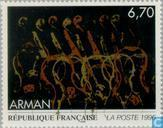 Postage Stamps - France [FRA] - Painting Arman
