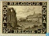 Postage Stamps - Belgium [BEL] - First Orval