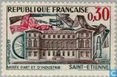 Briefmarken - Frankreich [FRA] - St. Étienne- Museum