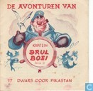 Bandes dessinées - Kapitein Brul Boei - Dwars door Pikastan