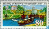 Postage Stamps - Germany, Federal Republic [DEU] - Schleswig-Holstein Canal 1784-1984