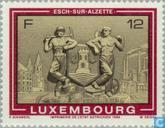 Briefmarken - Luxemburg - Tourismus