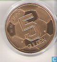 "Coins - the Netherlands - Netherlands 5 gulden 2000 ""European Football Championship 2000"""