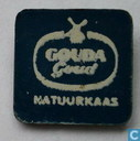 Gouda Goud natuurkaas [white on blue]