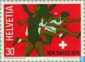 Postage Stamps - Switzerland [CHE] - SATUS 100 years
