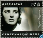 Postzegels - Gibraltar - Bioscopen 1895-1995