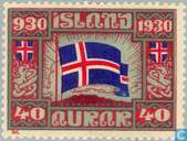Timbres-poste - Islande - 1000 années Allthings