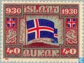 Postzegels - IJsland - 1000 jaar Allthings