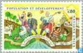 Briefmarken - Vereinte Nationen - Genf - Konferenz über Bevölkerung und Entwicklung