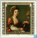 Postage Stamps - Liechtenstein - Painting celebrities