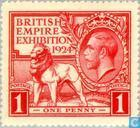 Timbres-poste - Grande-Bretagne [GBR] - Exposition Wembley
