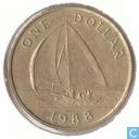 Bermuda 1 dollar 1988