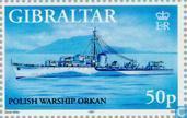 Briefmarken - Gibraltar - Kriegsschiffe des Zweiten Weltkriegs