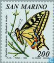 Postage Stamps - San Marino - Flora and Fauna