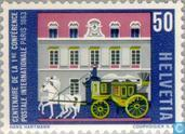Postage Stamps - Switzerland [CHE] - First post conference 100 years