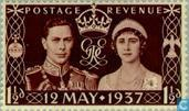 Postage Stamps - Great Britain [GBR] - Coronation of George VI