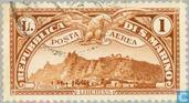 Postzegels - San Marino - Monte Titano
