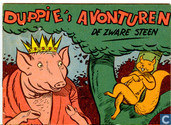 Comic Books - Duppie's avonturen - De zware steen