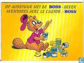 Comic Books - Boss - bever - Op avontuur met de Boss-bever / Avontures avec le castor-Boss