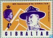 Postage Stamps - Gibraltar - 60 years of scouting
