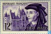 Postage Stamps - France [FRA] - Coeur, Jacques