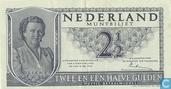 Bankbiljetten - Muntbiljet 1949 - Nederland 2,5 Gulden 1949