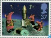 Postage Stamps - Great Britain [GBR] - Children's television 1946-1996