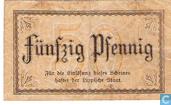 Billets de banque - Detmold - Landesbank des Fürstentums Lippe - Pfennig Detmold 50