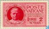 Postzegels - Vaticaanstad - Paus Pius XI