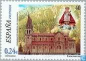 Postage Stamps - Spain [ESP] - Covadonga-Basilica