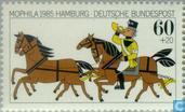 Postzegels - Duitsland, Bondsrepubliek [DEU] - Postzegeltentoonstelling MOPHILA '85 Hamburg