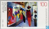 Postage Stamps - Germany, Federal Republic [DEU] - 20th Century Painting