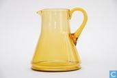 Glas / Kristall - Kristalunie - Libel Waterkan amber