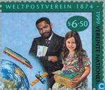 Postage Stamps - United Nations - Vienna - 125 years U.P.U.