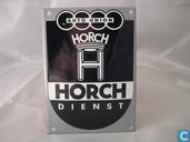 Emaille Bord : Horch