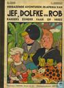 Comic Books - Jef, Dolfke en Rob - Verbazende avonturen in Afrika