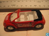 Model cars - Matchbox - Volkswagen New Beetle Cabriolet 'Coca Cola'