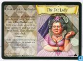 Trading cards - Harry Potter 4) Adventures at Hogwarts - The Fat Lady