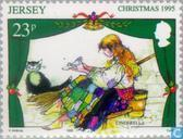 Postage Stamps - Jersey - fairy tales