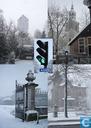 Ansichtkaarten - Almelo - Almelo in de sneeuw