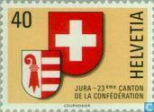 Postage Stamps - Switzerland [CHE] - 23rd canton Jura