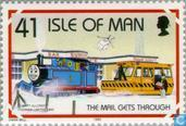 Timbres-poste - Man - Thomas la locomotive