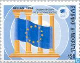 Postage Stamps - Greece - President Of The European Union