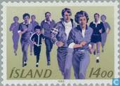 Postage Stamps - Iceland - Sports